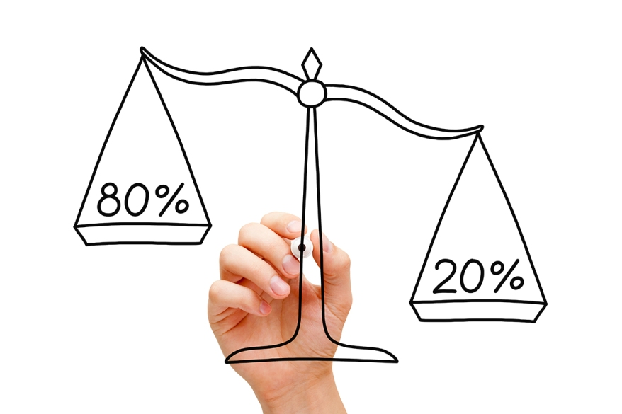 Pareto Principle Scale Concept