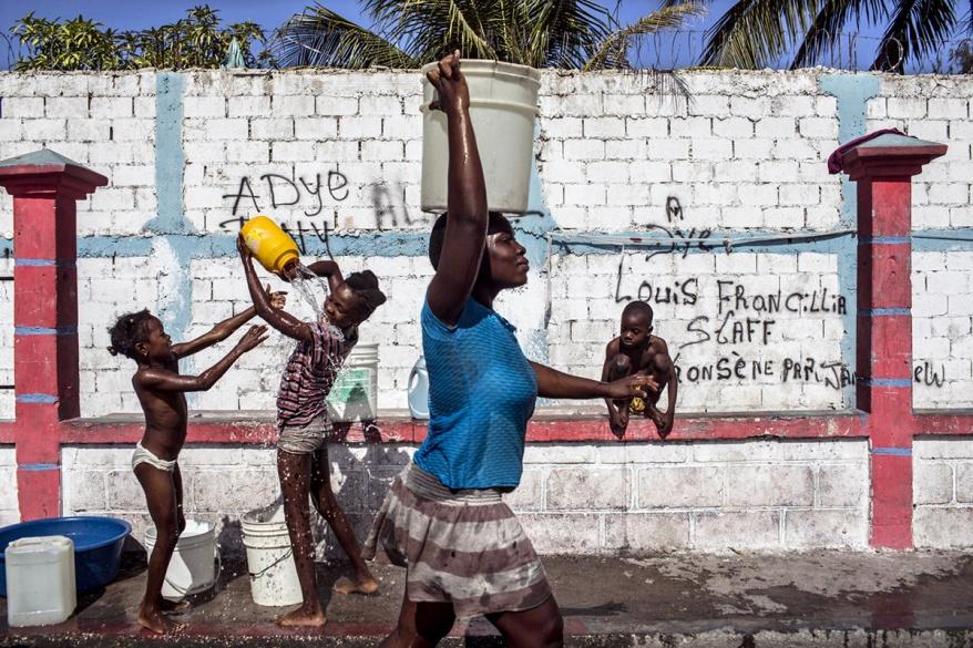 VIE QUOTIDIENNE A PORT-AU-PRINCE, HAITI, 3 ANS APRES LE SEISME.