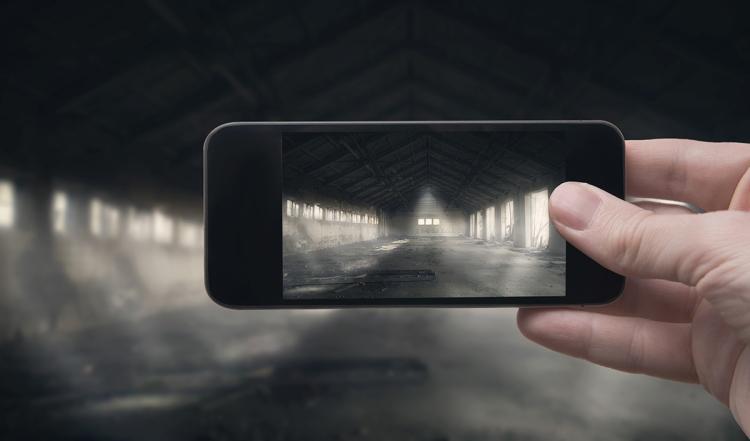 Abandoned building (Smartphone photo)