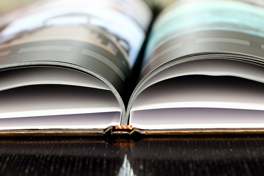 Partial View of a Photobook