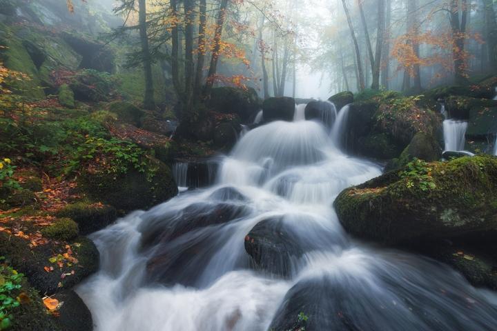 cascade Auvergne, France