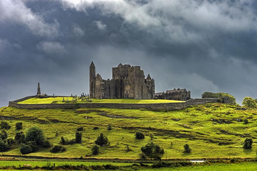 Rock of Cashel (irish Carraig Phadraig) - a complex of medieval