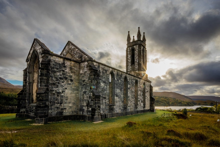 old church donegal ireland